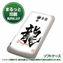 docomo AQUOS PHONE EX SH-04E【TPUまるっと印刷 OE804 龍ノ書 光沢仕上げ】ソフトケース 横まで印刷(アクオスフォンEX/SH04E用)