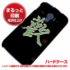 docomo AQUOS PHONE ZETA SH-06E ハードケース【まるっと印刷 OE823 歓 光沢仕上げ】横まで印刷(アクオスフォンZETA/