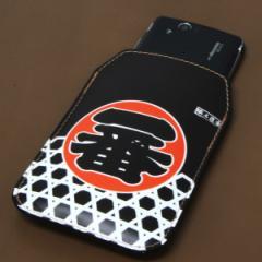 本革(レザー) スマートフォンケース【181 職人道楽(一番)】 【Mサイズ】SH-07E/SH-01E/F-03E/N-02E/iPhone5/iPhone4s