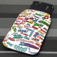 本革(レザー) スマートフォンケース【271アメリカンキャッチコピー】 【Mサイズ】SH-07E/SH-01E/F-03E/N-02E/iPhone5/iPhone4s