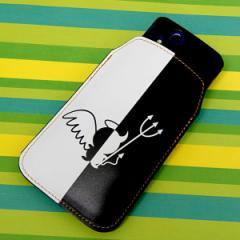 本革(レザー)スマートフォンケース【027 ハーフデビット】【Lロング】Xperia A/ELUGA P/Optimus it/PANTONE 6/AQUOS PHONE EX/ASCEND/X