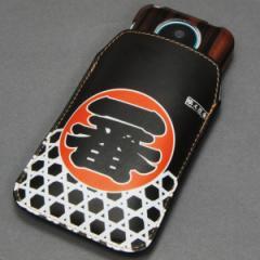 本革(レザー)スマートフォンケース【181 職人道楽(一番)】【Lロング】Xperia A/ELUGA P/Optimus it/PANTONE 6/AQUOS PHONE EX/ASCEND