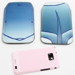 本革(レザー) スマートフォンケース【348 いるか】 【Lサイズ】iPhone5/ARROWS Kiss F-03E/MEDIAS U N-02E 等汎用