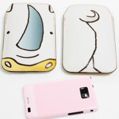 本革(レザー) スマートフォンケース【350 さい】 【Lサイズ】iPhone5/ARROWS Kiss F-03E/MEDIAS U N-02E 等汎用
