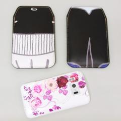 本革(レザー)スマートフォンケース【355 くじら】【LLロング】Ascend D2/MEDIAS X/Galaxy S4/AQUOS PHONE ZETA/MEDIAS X/Disney mobile