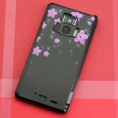 REGZA Phone T-01D / Disney Mobile on docomo F-08D 共用 ケース【019 桜クリスタル】