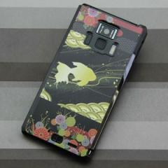 REGZA Phone T-01D / Disney Mobile on docomo F-08D 共用 ケース【174 天の川の金魚(和柄)】