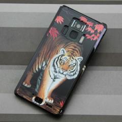 REGZA Phone T-01D / Disney Mobile on docomo F-08D 共用 ケース【177 もみじと虎】