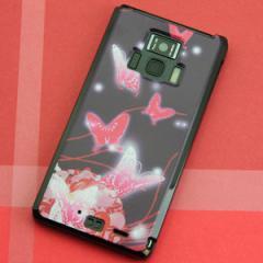 REGZA Phone T-01D / Disney Mobile on docomo F-08D 共用 ケース【251 紅の蝶】