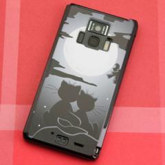 REGZA Phone T-01D / Disney Mobile on docomo F-08D 共用 ケース【342 月夜の二人】