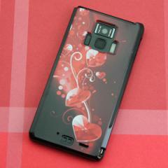 REGZA Phone T-01D / Disney Mobile on docomo F-08D 共用 ケース【385 クリスタルな恋】