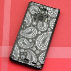REGZA Phone T-01D / Disney Mobile on docomo F-08D 共用 ケース【421 ペイズリー】