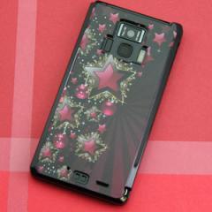 REGZA Phone T-01D / Disney Mobile on docomo F-08D 共用 ケース【434 星の壁】