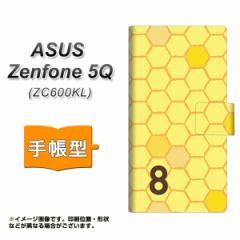 メール便送料無料 ASUS Zenfone 5Q ZC600KL 手帳型スマホケース 【 IB913 はちの巣 】横開き (ASUS ゼンフォン 5Q ZC600KL/ZC600KL用/ス
