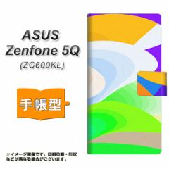 メール便送料無料 ASUS Zenfone 5Q ZC600KL 手帳型スマホケース 【 YB836 ニュートンリング03 】横開き (ASUS ゼンフォン 5Q ZC600KL/ZC6