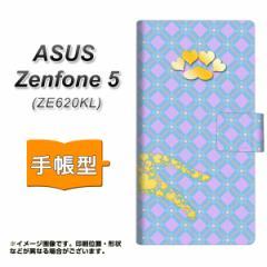 メール便送料無料 ASUS Zenfone 5 ZE620KL 手帳型スマホケース 【 YA976 ハートネコ02 】横開き (ASUS ゼンフォン 5 ZE620KL/ZE620KL用/