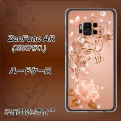 ZenFone AR ZS571KL ハードケース / カバー【1178 ラブリーローズ 素材クリア】(ゼンフォンAR ZS571KL/ZS571KL用)