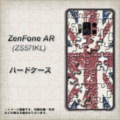 ZenFone AR ZS571KL ハードケース / カバー【EK803 ユニオンジャックパズル  素材クリア】(ゼンフォンAR ZS571KL/ZS571KL用)