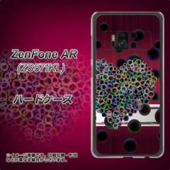 ZenFone AR ZS571KL ハードケース / カバー【VA836 悪女のハート 素材クリア】(ゼンフォンAR ZS571KL/ZS571KL用)