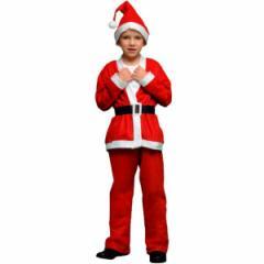 サンタコス サンタ 衣装 キッズ 男の子 サンタコスチューム 3歳から5歳用 まとめ買い 3着セット 即日発送 〔送料無料〕