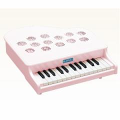 河合楽器製作所 ミニピアノ P-25(白) 【つみき・木製玩具】 【送料無料】
