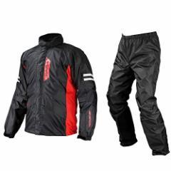 コミネ(Komine) バイク用レインスーツ ブレスターレインウェア-フィアート ブラック L 03-539 RK-539