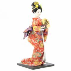 アウトレット品 日本人形 舞妓J1617【19ya1075】京雅吉兆 扇子