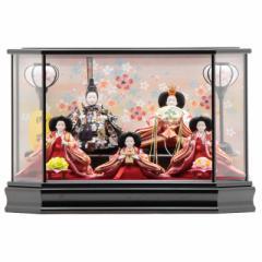 雛人形 ケース入り五人飾り[幅56cm][it-1008] 雛祭り