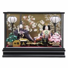 雛人形 ケース入り親王飾り[幅48cm][it-1011] 雛祭り