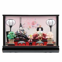 雛人形 ケース入り親王飾り[幅48cm][it-1013] 雛祭り