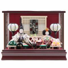 雛人形 ケース入り親王飾り[幅37cm][it-1014] 雛祭り
