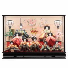 雛人形 ケース入り十人飾り[幅69cm][it-1015] 雛祭り