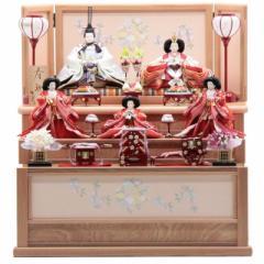 雛人形 五人三段飾り[幅70cm][it-1038] 雛祭り