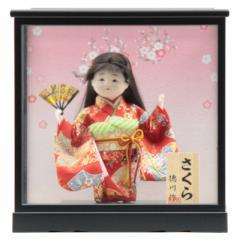 雛人形 ケース入り童人形【さくら】[幅32cm][it-1069] 雛祭り
