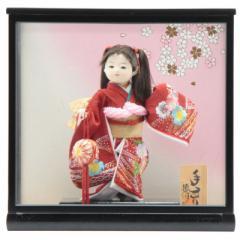 雛人形 ケース入り市松人形[幅41cm][it-1076] 雛祭り