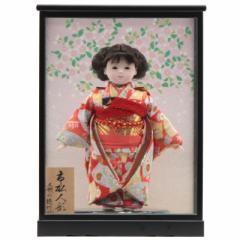 雛人形 ケース入り市松人形[幅32cm][it-1090] 雛祭り