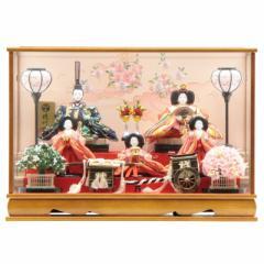 雛人形 ケース入り五人飾り[幅69cm][it-1092] 雛祭り
