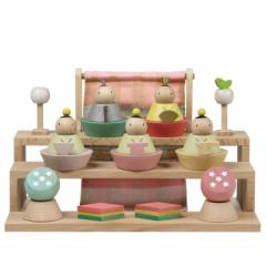 雛人形 五人三段飾り【プーカのひな人形】[tn1]徳永 雛祭り