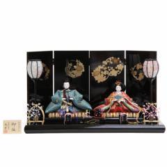 雛人形 親王平飾り【正絹有職】[193to1025]望月龍翠 伝統工芸品 雛祭り
