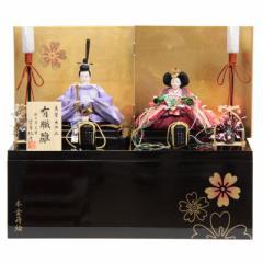 雛人形 親王収納飾り【有職雛】正絹 [幅50cm] 三世 望月紀彦 [193to1336-a70] 雛祭り