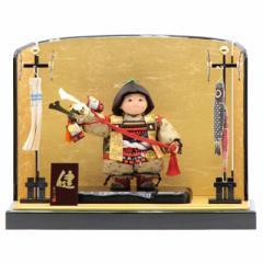 五月人形 子供大将平飾り【健】 幅60cm[195it1071]公司 端午の節句
