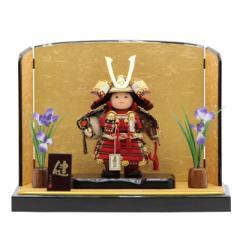 五月人形 子供大将平飾り【健】 幅60cm[195it1072]公司 端午の節句