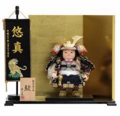 五月人形 子供大将平飾り【駿】 幅51cm[195to1038B]幸一光 端午の節句