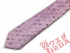 【CELIME】セリーヌ ネクタイ パープル系 シクル100% SILK 絹