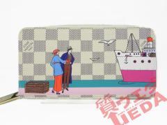 LOIUS VUITTON ルイヴィトン ジッピーウォレット ダミエアズール N41668 西洋クルーズ 財布