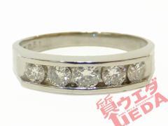 リング ダイヤモンド Pt900 指輪 プラチナ 14.5号 ジュエリー 豪華