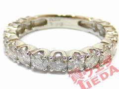 【JEWELRY】指輪 リング Pt900 プラチナ ダイヤモンド 1.00ct 約7号 仕上げ済