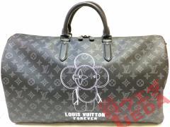 【LOUIS VUITTON】ルイヴィトン キーポル バンドリエール50 M43683 ボストンバッグ モノグラムエクリプス 新品 未使用