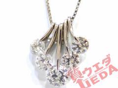【JEWELRY】ネックレス Pt900 Pt850 プラチナ ダイヤモンド 1.564ct 約45cm ジュエリー 仕上げ済