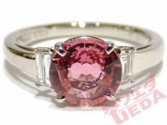 【天白】【JEWELRY】リング 指輪 Pt900 サファイヤ 1.58ct ダイヤ 0.17ct 約12号 ジュエリー 高級 ソーティング 仕上げ済
